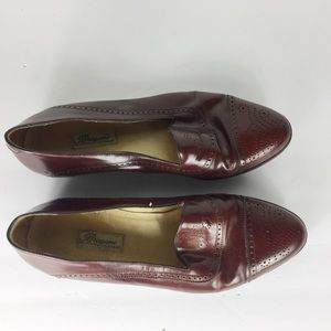 Cole Haan Brown 11D Cap Toe Italy Loafers Shoes